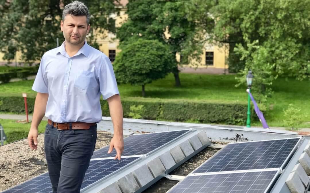 A Ménesbirtok elkötelezett a megújuló energiaforrások telepítése iránt