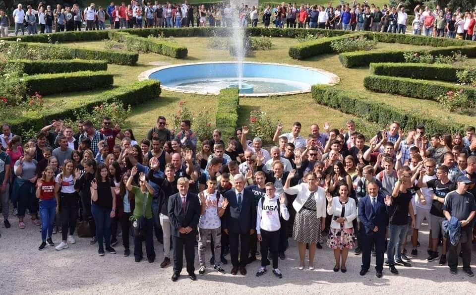 A Ménesbirtok iskolájának tanulói a Bábolnai Gazdanapokon jártak